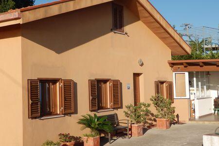Sicilië-Cefalu: vakantiehuis met panorama zeezicht