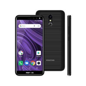 """Smartphone Positivo Twist 2 S512 16GB Dual Chip 5.34"""" - Preto"""