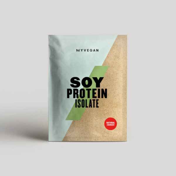 Soy Protein Isolate (Sample) - 30g - Natural Strawberry