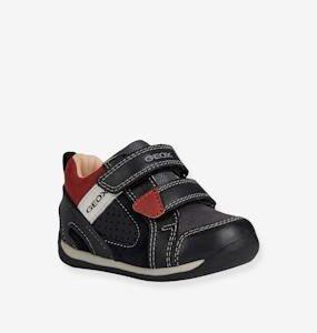 Trainers for Baby Boys, B Each Boy by GEOX® black