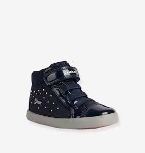 Trainers for Baby Girls, B Gisly Girl by GEOX® dark blue