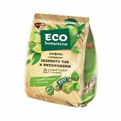 Конфеты Eco Botanica с экстрактом зеленого чая и витаминами, желейные, 200 гр.