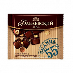 Шоколад Бабаевский Uganda, 90 гр.