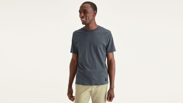 Dockers Icon Tee, Slim Fit T-Shirt, Men's, Blue XL