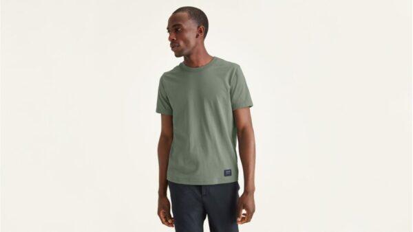 Dockers Icon Tee, Slim Fit T-Shirt, Men's, Green XL