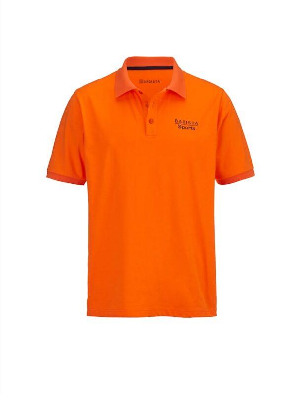 Funktionspoloshirt BABISTA Orange