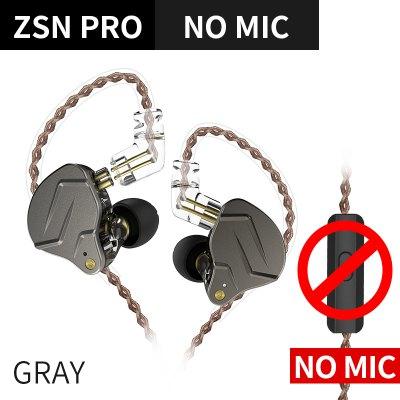 KZ ZSN PRO / ZSN PRO X 1BA + 1DD KZ hybride écouteur casque HIFI écouteurs dans l'oreille moniteur casque écouteurs pour ZST ZST X ZSX