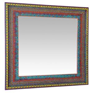 Large Rectangular Oaxaca Mirror