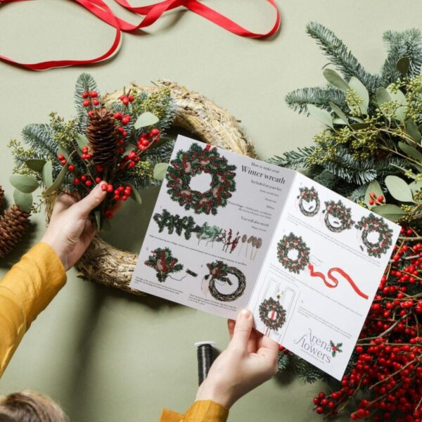 Make Your Own Berry Christmas Wreath - Coming Soon