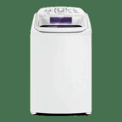 Máquina de Lavar 13Kg Electrolux Branca Premium Care Silenciosa, Cesto inox e Jet&Clean (LPR13)