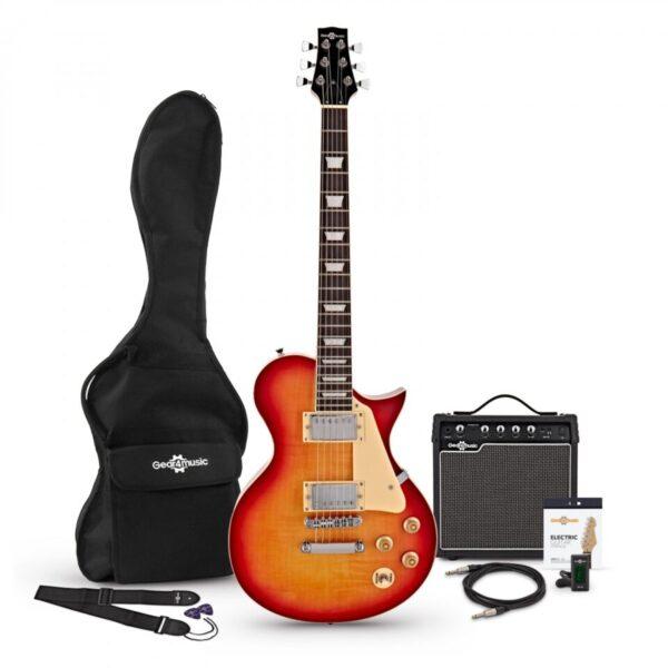 New Jersey Electric Guitar + 15W Amp Pack Sunburst