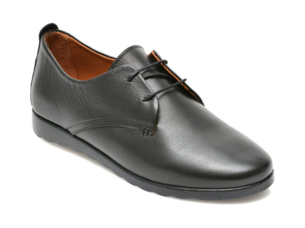 Pantofi FLAVIA PASSINI negri, 2104K, din piele naturala