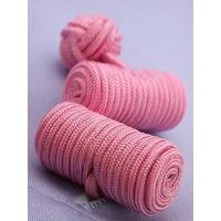 Pink Barrel Knotted Cufflinks - 1+