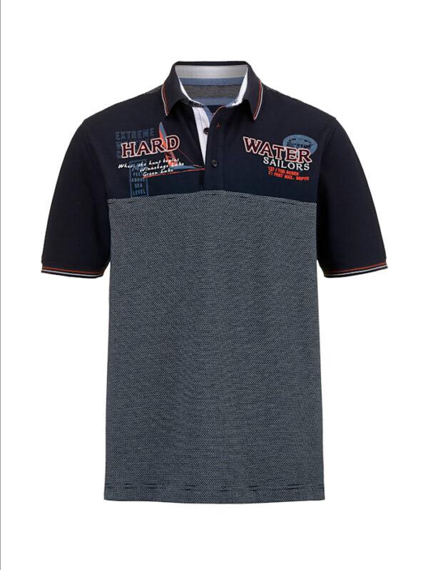 Poloshirt BABISTA Marineblau