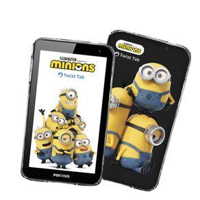 """Tablet Positivo Twist Tab Minions T770KM 32GB WiFi 7"""" - Preto"""