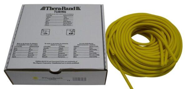 Thera-Band Tubing - Yellow - Thin 30m