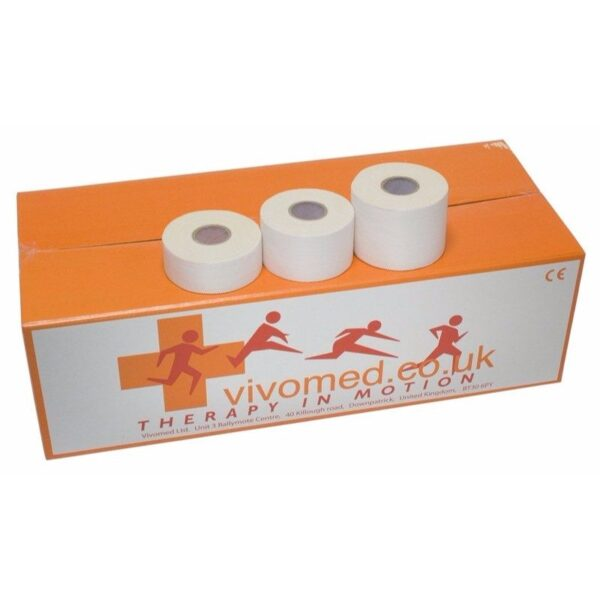 Vivomed Vivo S Tape Zinc Oxide - 2.5cm x 10m - 1 Roll
