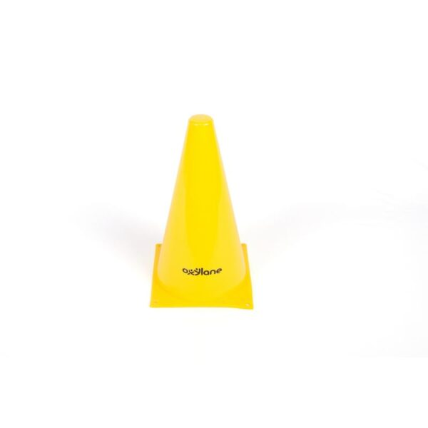 Yellow Marking Cone -6 inches By KIPSTA   Decathlon